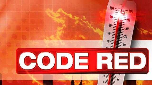 Code Red Hot Weather Alert