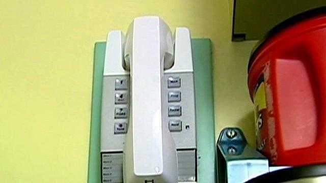 Generic Telephone On Wall - 23667522