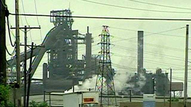 R G Steel Sparrows Point Md. AG files objection...