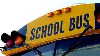 school bus lights_windshield (generic) - 1858545