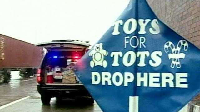 TOYS FOR TOTS at the Toll plaza - 18248310