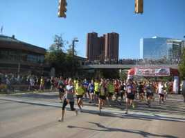 The Boston Marathon may be older, but the Baltimore Marathon is just as fun.