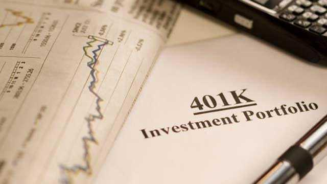 401k investment portfolio, financial statement