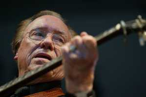 Earl Scruggs distinctive picking style and association with Lester Flatt cemented bluegrass music's place in popular culture. (January 6, 1924 – March 28, 2012)