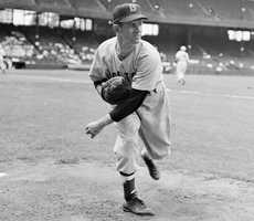 Mel Parnell still holds the Red Sox record for left-handed pitchers in games started, innings and wins.(June 13, 1922 – March 20, 2012)