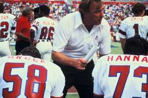 Ron Erhardt was head coach of the New England Patriots from 1979 through 1981. (February 27, 1932 - March 21, 2012)