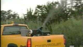 Mosquito Spraying Truck - 3749968