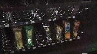 Snacks In Vending Machine - 2498127