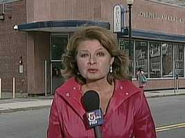 Reporter Gail Huff, the wife of U.S. Senator Scott Brown, left WCVB-TV after 17 years following her husband's election.