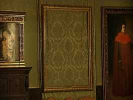 After over 20 years, and $20 million spent investigating the crime, there's never been a single arrest. The places where the paintings hung in the museum remain empty to this day.