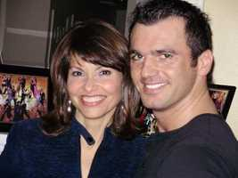 """One of Liz's favorite assignments was an interview with Tony Dovolani from """"Dancing With the Stars."""""""
