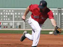 The Red Sox drafted Youkilis in 2001.