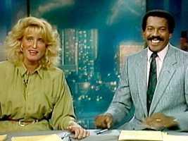 Susan Wornick and Jim Boyd on the Midday News set