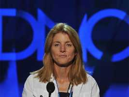 Caroline Kennedy Schlossberg is seen during a sound check before the opening of the Democratic National Convention in Denver on August 25, 2008.