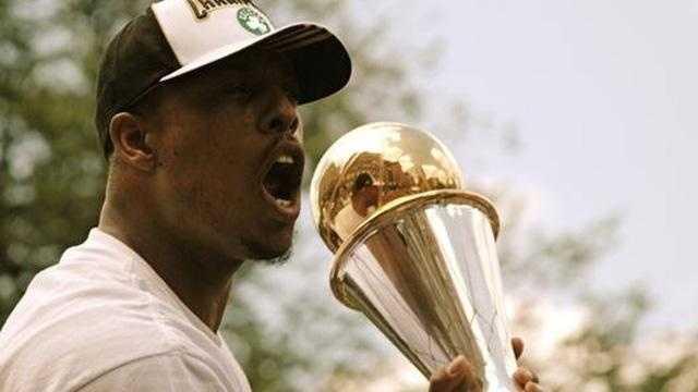 Pierce, Trophy Celtics - 17819725