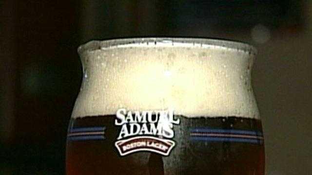 Sam Adams, beer, pilsner glass - 16881886