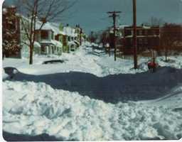 Winslow Street - Everett, MA, Blizzard of '78