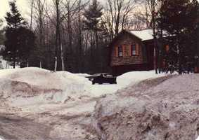 Our house, Mowry Street, Mendon, MA