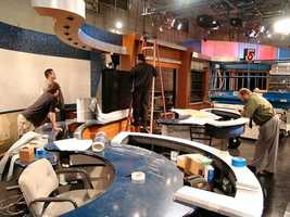 In 2007, WCVB switched to HD and a new set.