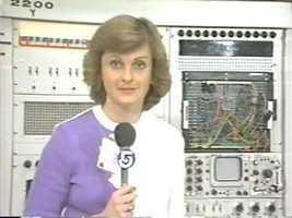 Reporter Mary Richardson