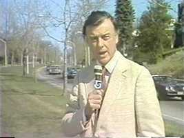 Reporter Jack Hynes, 1981