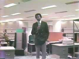 Reporter Jim Boyd, 1978