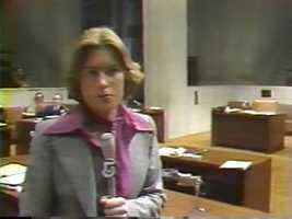 Reporter Ann McGrath, 1977
