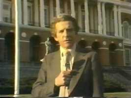 Reporter Bill Harrington, 1976
