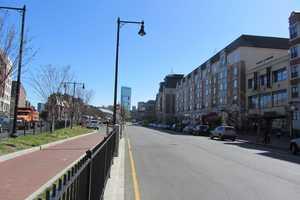 Looking east on Commonwealth Avenue