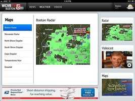 Doppler radar for the regions of the state.