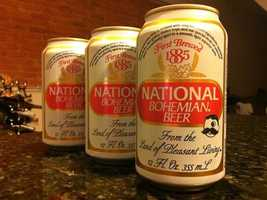"Since 1885, Baltimoreans have treasured National Bohemian as the city's signature beer. ""Get me a Natty Boh, hon."""