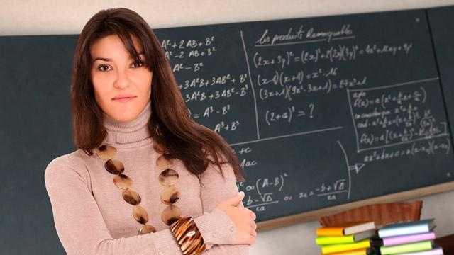 Teacher, classroom, education - 27398651
