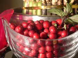 Opt for homemade cranberry sauce instead of canned.