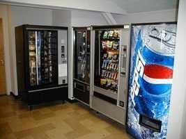 35% of vending machine buttons were found to be contaminated.