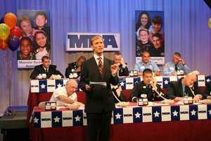 David Brown hosts the MDA Telethon