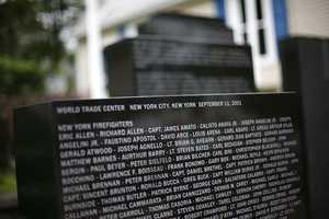 In North Plymouth, Dickie Quintal a fruit and produce wholesaler was so mover by the attacks that he started a fund raiser and donated land next to his retail shop to build a 9/11 memorial.