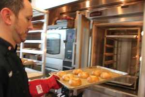 Jeff Miller is one of the R&D chefs in Dunkins' test kitchens