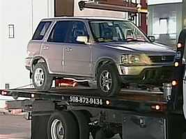 Fujita's car was impounded.