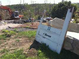 A look at the devastation left by the tornado.
