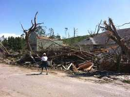 Reporter John Awater took these photos in Monson