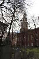 The Burying Ground was the third cemetery established in the city of Boston and dates to the year 1660.