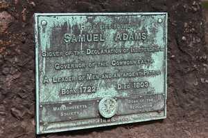 Samuel Adams (1722-1803), revolutionary firebrand, signer of the Declaration of Independence.