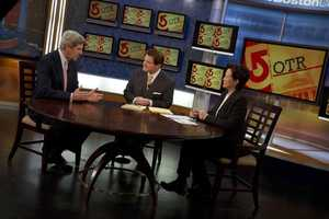 Sen. John Kerry goes On The Record with Ed Harding and Janet Wu.