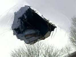 Roof collapse at a Georgetown school