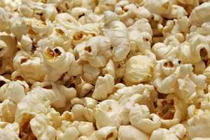 Popcorn is low in calories.