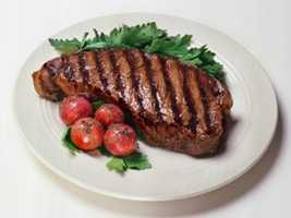 Skinless chicken breast is a great choice, and some cuts of beef can make the grade.