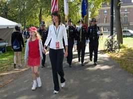 Throughout her career at WCVB, Liz has been active in the community and charitable events. In Sept. 2010, she led the Boston Heartwalk