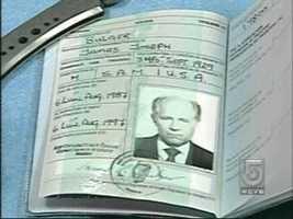 Whitey Bulger Passport, date not known.