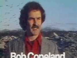 Meteorologist Bob Copeland in a 1978 newscast intro.