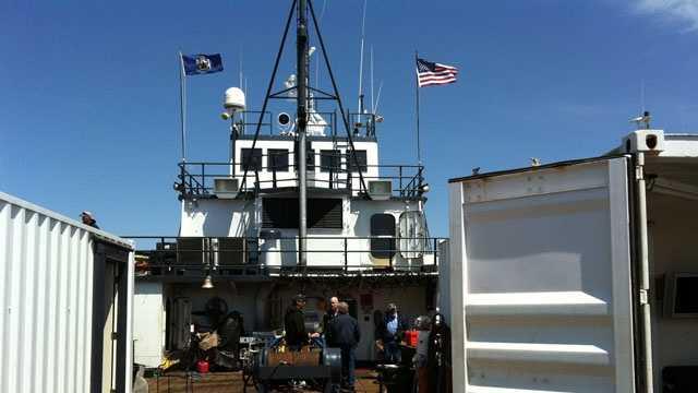 Sea Hunter boat